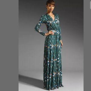 Rachel Palley Caftan Maxi Dress 'Topiary Native'